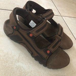 Merrell Shoes - Merrell sandspuroak men's sandals brown